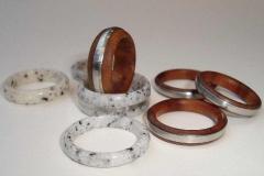 Verschiedene Ringe - Manfred Faltin