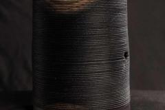 Querholzgefäß aus Eiche mit Eisenessig gefärbt - Johannes Stark