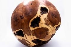 Eibenkugel aus einem Wurzelstock 34 Kg 400mm Durchmesser - Niklas Dettke