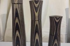 Gewürzmühlen aus Aktionwood ( gefärbtes Birkenfurnier) in verschiedenen Farben und Größen (3) - Michael Walther