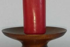 Kerzenständer Mahagoni H 7 D 145 cm - Walter  Kumpf