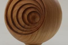 Blickrichtungen - Kugel mit versetzten Eindrehungen - Helmut Geupel