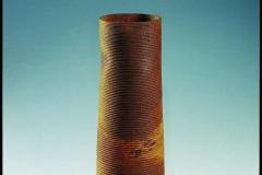 Designpreis der HWK 2008 Eichengefäß Quer aus Gabelung mit Kalkmilch gefärbt - Johannes Stark