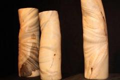 Gefäße in Knitteroptik aus Buchenknolle - Johannes Stark