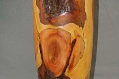 Große Vase, Zwetschge - Michael Zwingmann