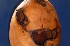 Hohlgefäß aus Apfelwurzelstock - Michael Zwingmann