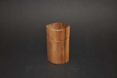 Ovaldose Nussbaum, H 10 cm - Roland Zierk