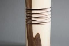 Teelichtständer mit Eindrehungen - Helmut Geupel