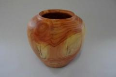 Vase aus Mammutbaum - Gerhard Winter
